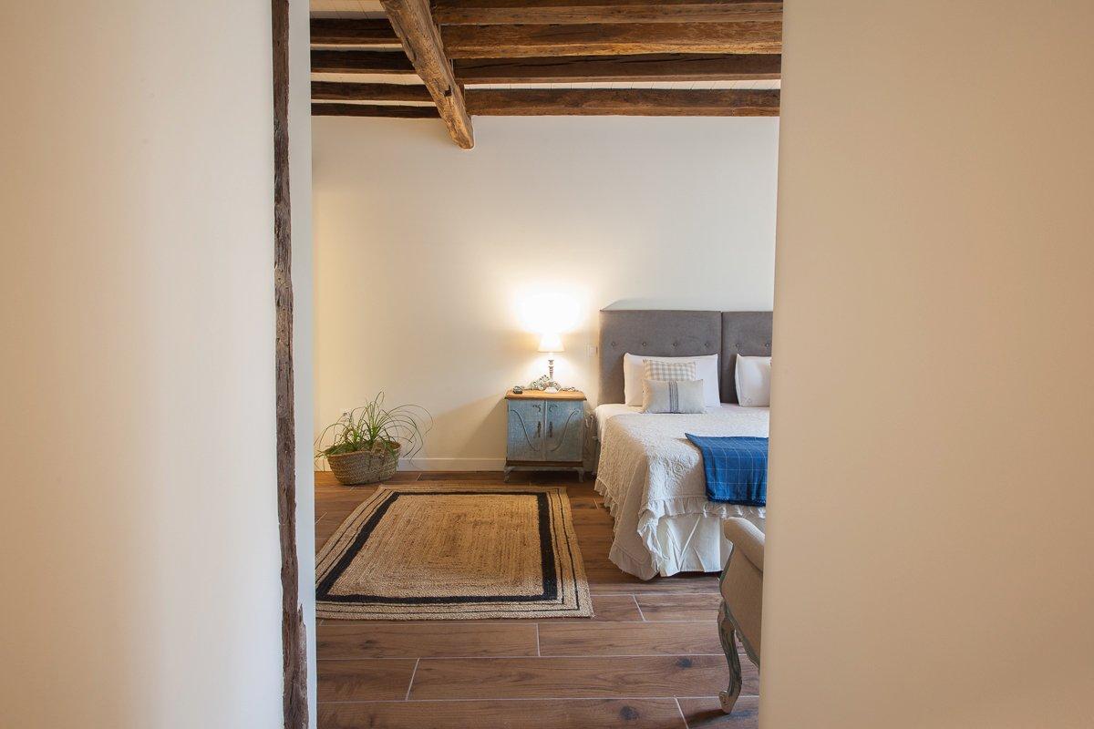 Habitación doble con encanto Avellano en Posada Seis Leguas