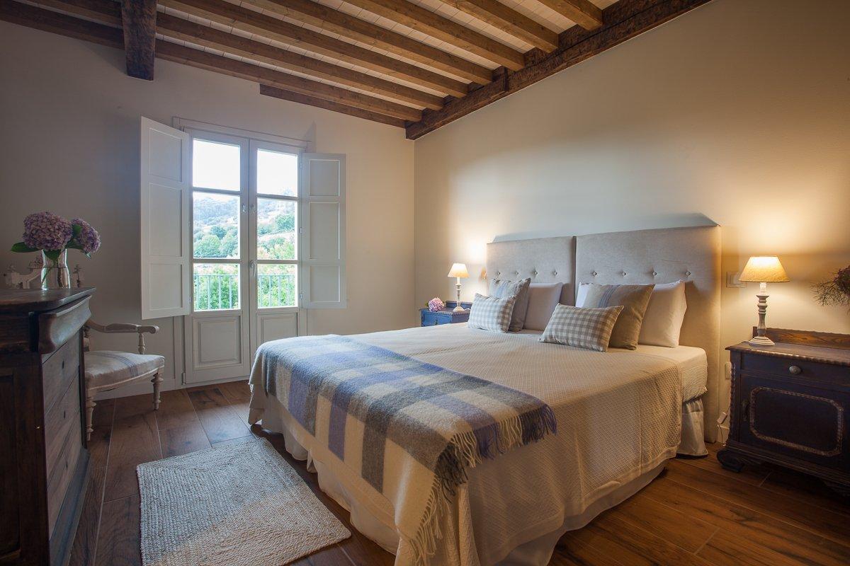 Habitación Limonero con cama doble en Posada Seis Leguas