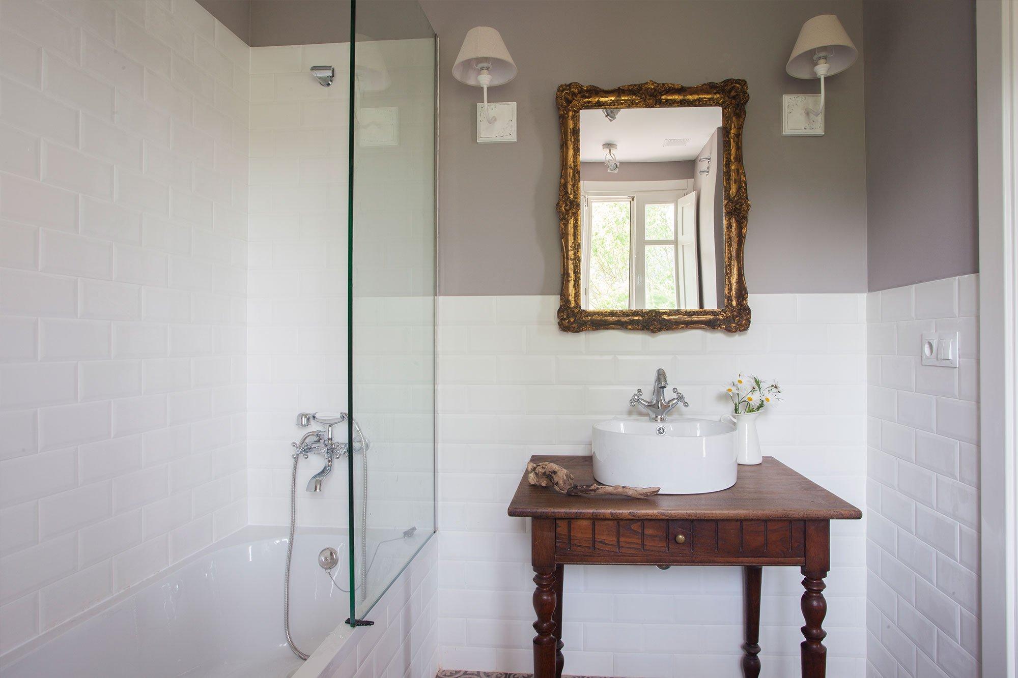 Habitaciones con baño completo en Posada Seis Leguas