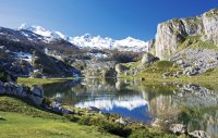 Vista del Parque Nacional de los Picos de Europa e